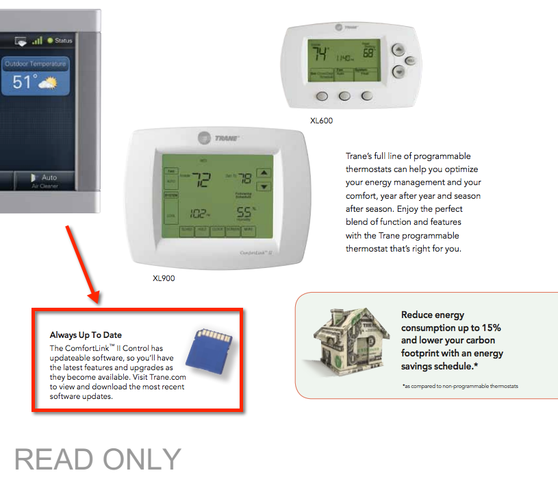 lennox touchscreen thermostat. wifi thermostat-trane comfortlink ii brochure lennox touchscreen thermostat
