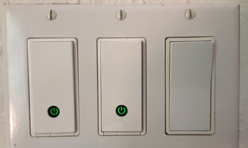 Wall Light With Timer : Belkin WeMo Review: The (Near) Perfect In-Wall Light Switch Timer - House So Green