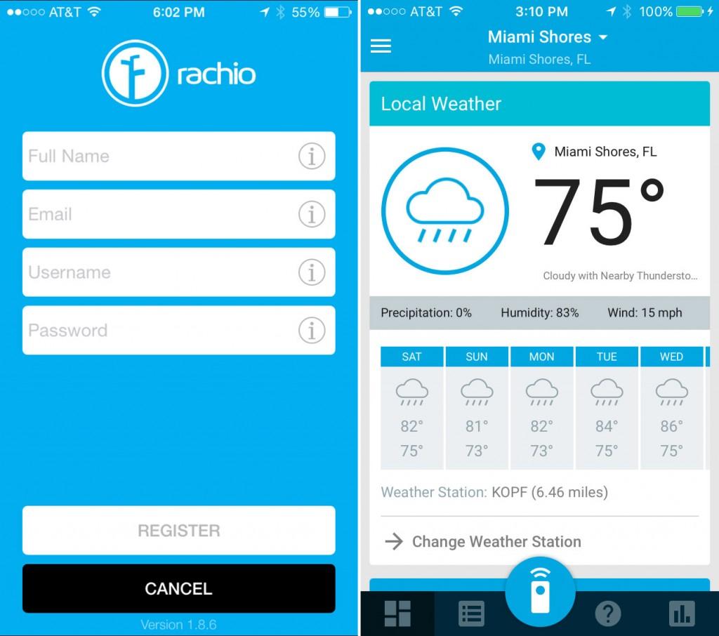 Rachio Iro WiFi Sprinkler Controller-iPhone Setup