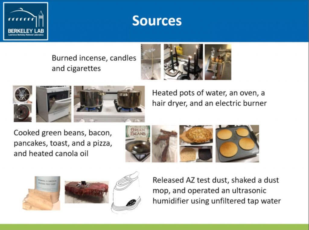 Berkeley Labs-Source Pollutants in the Home